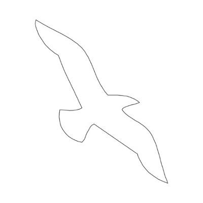Стикери са за защита на птици от сблъсък с прозорци и други прозрачни повърхности